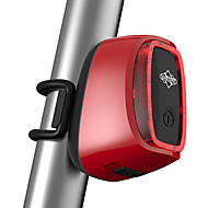 Luzes de Bicicleta luzes de fim de bar Luz Traseira Para Bicicleta LED - Ciclismo Controle Remoto Prova-de-Água Recarregável Sensor