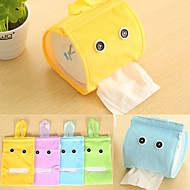 Creative Roll Paper Articles For Daily Use Cartoon Cute Textile (Random Colours)