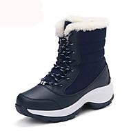 נשים-מגפיים-בד-פלטפורמה / מגפי שלג-שחור / כחול / אדום / לבן-שטח / משרד ועבודה / קז'ואל-פלטפורמה