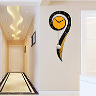 Modern/Contemporary Houses Wall Clock,Others Metal / Wood 26*60cm Indoor Clock