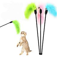 Katteleke Leker til kjæledyr Teasers Klokke Plastikk Tilfældig Farve