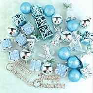 Joulukuusenkoristeet 32 lake sininen joulu paketti ripustaa paljon christmas riipus