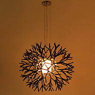 Pendant Light ,  Modern/Contemporary Painting Feature for Mini Style Metal Bedroom Dining Room