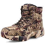 Men's Boots Spring / Fall / Winter Comfort Canvas Outdoor / Athletic / Casual Taupe Hiking / Trail Running