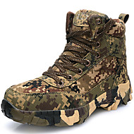 Men's Boots Spring / Fall / Winter Comfort Canvas Outdoor / Athletic / Casual Coffee Hiking