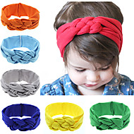 12 couleurs / set fascinateur bébé noeud bandeau bébé fille turbans headwraps hairband coton noué bandeau