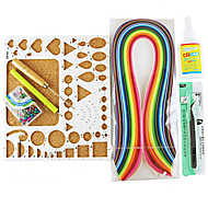 400pcs Quilling hârtie ambarcațiuni DIY kit decor art / 7pcs set