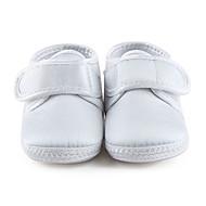 Para Meninas Bebê-Rasos-Primeiros Passos Sapatos de BerçoMarfim-Cetim com Stretch-Casamento Social Casual Festas & Noite
