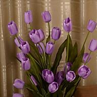 1 1 ענף פלסטיק / Others צבעונים / Others פרחים לשולחן פרחים מלאכותיים