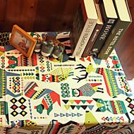 Quadrada Padrão / Animal / Mosaico de Retalhos Toalhas de Mesa , Linho / Raiom MaterialTabela Dceoration / Favor Dinner Decor / Decorando
