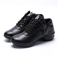 Sapatos de Dança(Preto / Marrom / Branco) -Feminino-Não Personalizável-Latina / Jazz / Tênis de Dança / Sapateado / Moderna / Salsa /