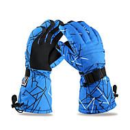 Ski-Handschuhe Winterhandschuhe Herrn Sporthandschuhe warm halten / Antirutsch / Wasserdicht / SchneedichtSkifahren / Camping & Wandern /