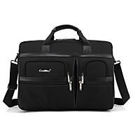sac de 15,6 à 17,3 pouces à compartiments multiples chocs épaule portable sac main pour dell / hp / sony / acer / lenovo etc