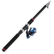 Rybářský prut Přívlač Uhlík 21 M Mořský rybolov / Obecné rybaření Tyč Modrá-OEM