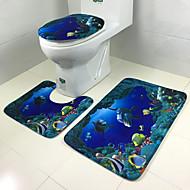 Tepetes de BanheiroPoliéster- ESTILOTradicional
