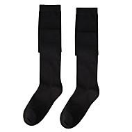 dva páry kolena vysoké ponožky punčochy nepromokavou černá / růžová / bílá