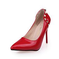 Homme-Décontracté-Noir / Bleu / Rose / Rouge / Gris-Talon Aiguille-Confort-Chaussures à Talons-Polyuréthane
