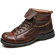 Men's Boots Spring / Fall / Winter Comfort Nappa Leather Outdoor / Office & Career / Party & Evening / Casual Brown Hiking