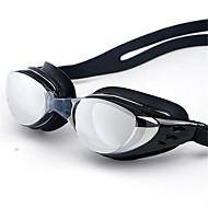 élevés clairement les lunettes boîte lunettes adultes placage revêtement anti-buée des lunettes de natation étanche et uv