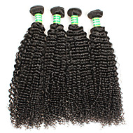 Remy brazil perverz göndör haj szűz 100% brazil emberi haj szövés 400g csomag 8-28inches brazil göndör haj szűz