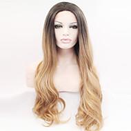 peruca cheia sintética antes das mulheres africanas laço longo alta - peruca de seda temperatura