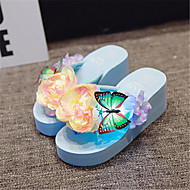 Women's Sandals Creepers PU Casual Blue Pink White