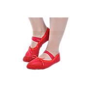 Na míru-Dětské-Taneční boty-Balet-Látka-Rovná podrážka-Černá / Růžová / Červená / Bílá