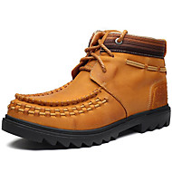 Men's Boots Spring / Summer / Fall / Winter Comfort Nappa Leather Outdoor / Office & Career / Party & Evening / Casual Brown Hiking