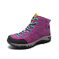Women's Athletic Shoes Winter Comfort Leather Outdoor Casual Athletic Flat Heel Others Purple Red Hiking