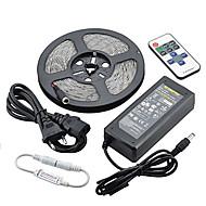 z®zdm 5m 90 wattů 7500lm 300x5630 SMD chladná / teplá bílá / modrá / červená kontrolka (DC12V)