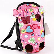 Γάτα Σκύλος Αντικείμενα μεταφοράς & Σακίδια ταξιδίου πλάτης Εμπρός σακίδιο Κατοικίδια Αντικείμενα μεταφοράς Φορητό Cute Love Ροζ