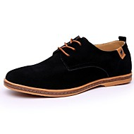 Men's Oxfords Fall / Winter Others Leather Outdoor / Office & Career / Casual Flat Heel OthersBlack / Blue / Brown / Green / Gray / Camel / Khaki