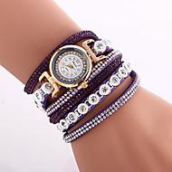 Watches Women Fashion Watch Luxury Crystal Bracelet Leather Strap Dress Quartz-Watch Clock Relogio Feminino Montre Femme
