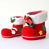2kpl joulukoristeita lahjoja rooli ofing joulukuusi koriste joululahja saappaat sisustustavarat