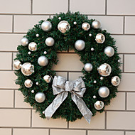 christmas ball dekoreret garland 50cm