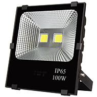 100W תאורה שוטפת לד 10000 lm לבן חם / לבן קר לד בכוח גבוה עמיד במים AC 220-240 / AC 110-130 V 1 יחידות