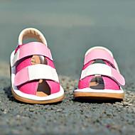 Sandály-Kůže-Others / Pohodlné / První botičky-Chlapecké-Modrá / Červená-Outdoor / Běžné-Plochá podrážka