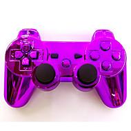 chapeamento sixaxis dualshock3 joystick sem fio Bluetooth gamepad controlador recarregável para ps3
