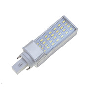 G24 9W White / Warm White 28x5630SMD LED 750-850LM  3000K 6000K Plug Light Corn Bulbs AC85-265V