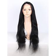 24 palců brazilského krajka přední Lidské vlasy paruky pro černé ženy rovně krajky čelní lidské vlasy paruky s dítětem vlasy Glueless