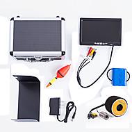 낚시 도구 방수 CE / RoHS 규제 휴대용 On/off 화이트 Led 무선 아님 18650 하드 플라스틱 블랙