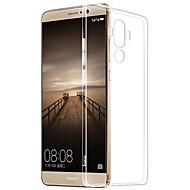 のために クリア ケース バックカバー ケース ソリッドカラー ソフト TPU のために HuaweiHuawei社P9 Huawei社P9ライト Huawei P9 Plus Huawei社P8 Huawei P8 Lite Huawei Mate 9 Huawei