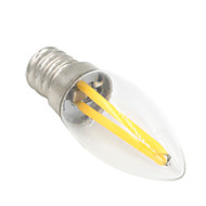 1.5W E12 LEDボール型電球 T 2 COB 100-120 lm 温白色 装飾用 交流220から240 V 1個