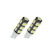 20x 6000K branco t10 / 921/912 interiores / Matrícula SMD lâmpadas 5050 13 LED