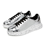 Women's Sneakers Spring / Summer / Fall Others Patent Leather Outdoor / Athletic / Casual Flat Heel Lace-up / Polka DotBlack / Red /