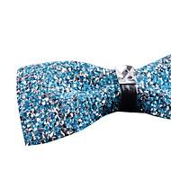 Gravata Borboleta (Preto / Azul / Dourado / Rosa / Azul Claro / Vermelho / Roxo Claro / Prateado , Poliéster) Irregular