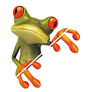 tegnefilm frosk 3d klistremerker dekorative dekaler