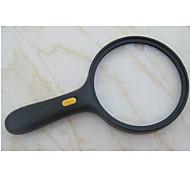 Nagyítók Általános használat Kézi / LED Magnification 5X 138mm Szabályos Műanyag
