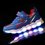 Para Meninos-Tênis-Conforto-Rasteiro-Verde Rosa Azul Real-Couro Ecológico-Para Esporte