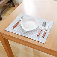 Obdélníkový Grafika / Vzor gingham Prostírání , Směs bavlny Materiál Hotel Jídelní stůl / Tabulka Dceoration